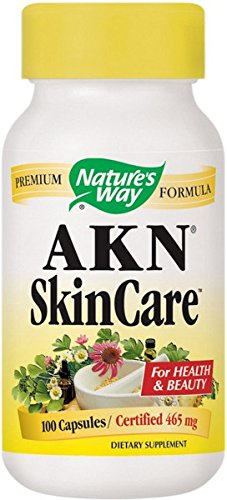 Nature's Way - Akn Skin Care, 100 capsules