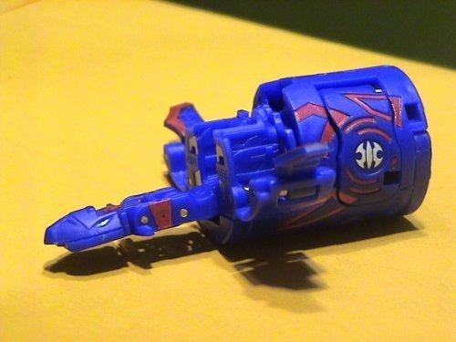 Bakugan D2 BakuDouble-Strike Blue Aquos Dartaak 700G (Sold Loose) [Toy] by Bakugan