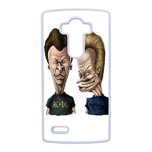 Beavis y Butt Head Adolescentes Highland Tejas caja del teléfono 96.361 Lg G4 célula funda blanca del teléfono celular Funda Cubierta EEECBCAAH75473