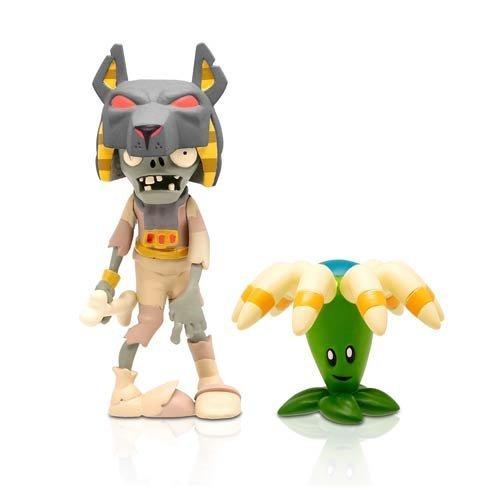 "Zoofy International 3"" Tomb Raiser Zombie Action Figure with Bloomerang"