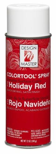 Design Master No.714 Spray, Holiday Red