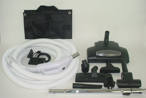 BEST Deluxe Central Vacuum Kit Wessel Werk Designed To Fit All Brands like Beam Electrolux Hayden (Gv Central Vacuum Kit compare prices)