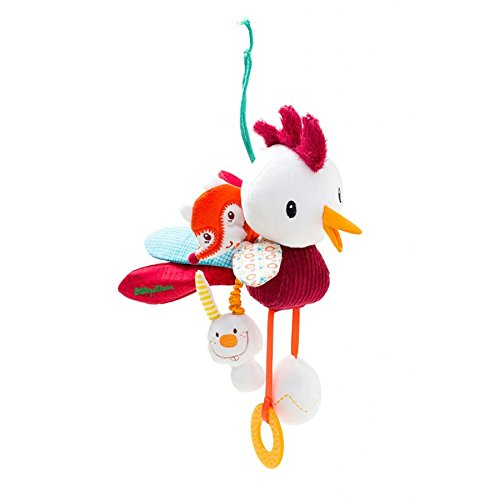 Lillputiens John Acti-Rooster Car Seat & Crib Dangling Toy
