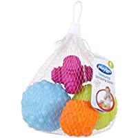 Playgro Textured Sensory Balls 4 Pack, Multi, 4 Count
