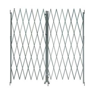 Industrial-Grade-2XZG8-Steel-Folding-Gate-Opening-8-10Ft