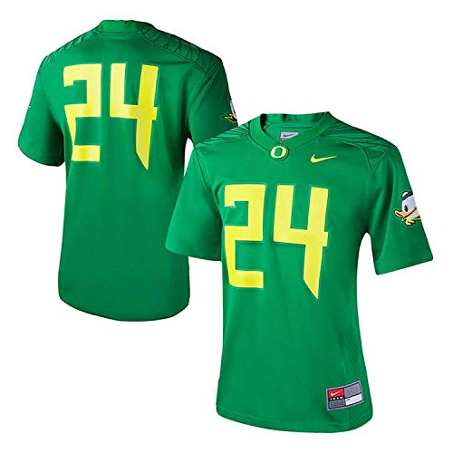 Nike Women's 24 Apple Green Oregon Ducks Game Replica Football Jersey Size Small (Ducks Jerseys Oregon)