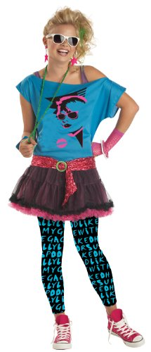 Awesome 80s Halloween Costumes (80s Valley Girl Teen Costume)