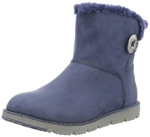 s.Oliver 26412, Botines para Mujer Azul (JEANS 845)