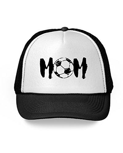 Awkward Styles Soccer Mom Hat Soccer Mom Trucker Hat for Cheer Soccer Fan Mom Black One Size (Soccer Mom Ball Cap)