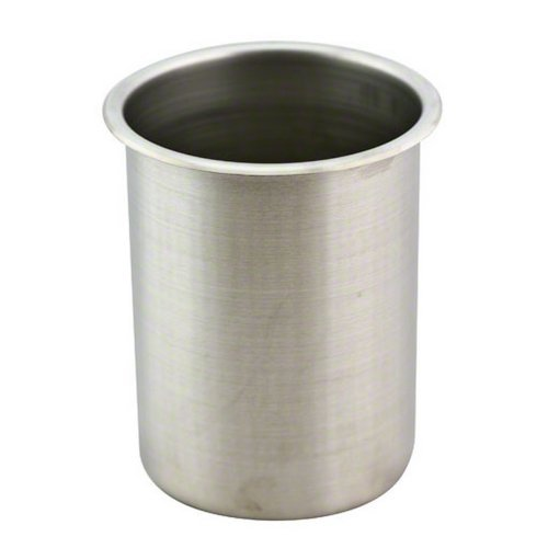 Vollrath 78720 Stainless Steel Bain Maries Pot, Satin Finish, 2-Quart by Vollrath