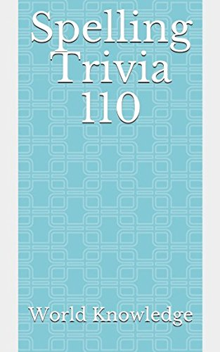 Download Spelling Trivia 110 pdf