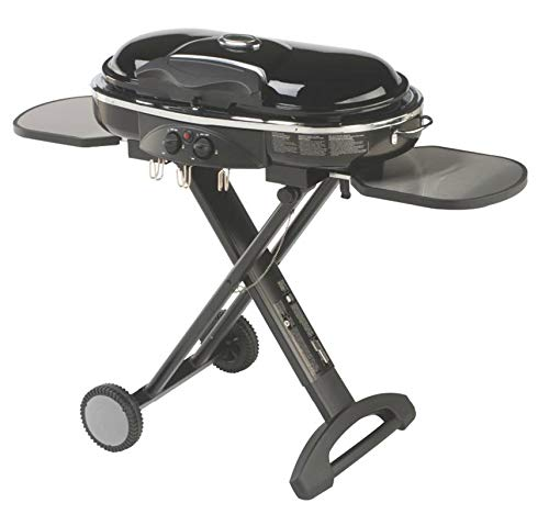 - COLEMAN Camping Tailgating Portable Standup Propane RoadTrip LXX Grill - Black