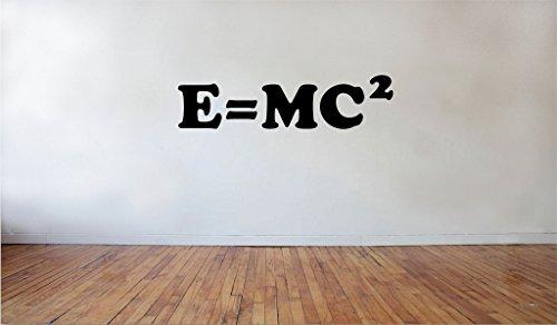 Blinggo Emc2 Science Wall Decals Quotes Einstein Kids Room School