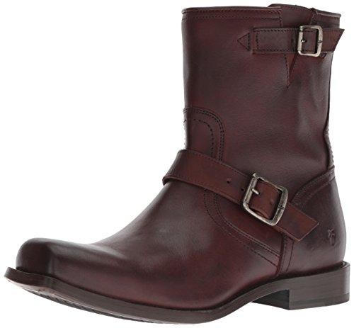 FRYE Men's Smith Engineer Fashion Boot, Brown, 11.5M