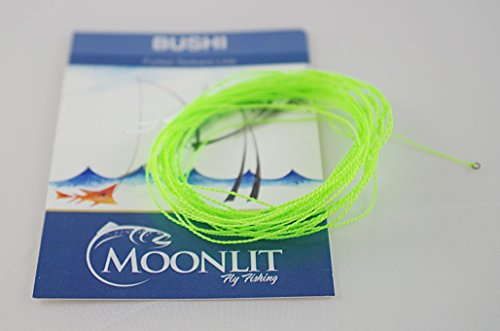 Moonlit Fly Fishing Bushi Furled Tenkara Line (All-Around line) Quality Made in USA (Neon Green, 9ft)