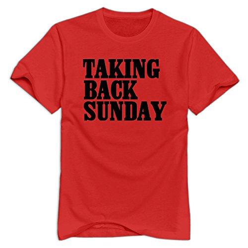 Taking Back Sunday Cool T-shirt For Men - XXL O-Neck - Merchandise Sunday Back Taking