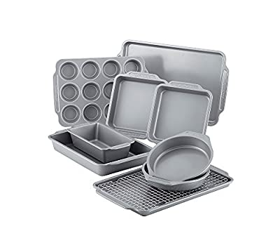 Farberware 10-pc. Nonstick Bakeware Set with Cooling Rack