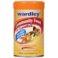 Wardley 1525 Goldfish Flakes Pet Food
