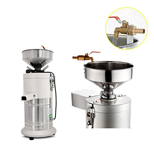 Commercial Aluminum Alloy Healthy Nutrition Soy Milk Maker Soybean Milk Machine Maker Commercial Soymilk Maker 35kg/h Output by SAVEMORE4U18 (Image #2)'