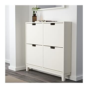 Amazon.com: IKEA STALL - Shoe cabinet with 4 compartments ...