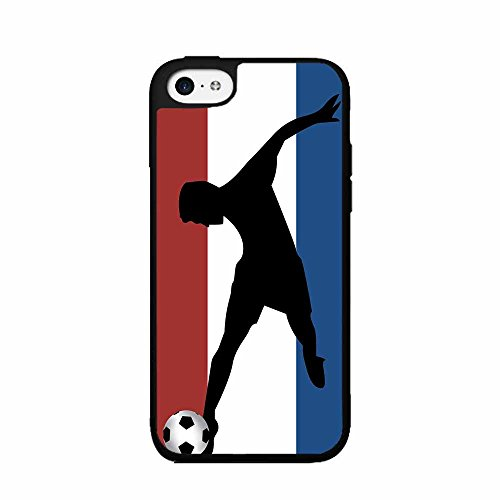 fan products of BleuReign(TM) World Cup France Soccer Plastic Phone Case Back Cover iPhone 5 5s and iPhone SE