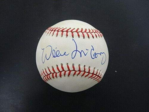 Willie McCovey Signed Baseball Autograph Auto AE85042 - PSA/DNA Certified - Autographed Baseballs ()