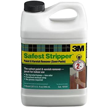 3M(TM) Safest Stripper(TM) Paint and Varnish Remover 10101