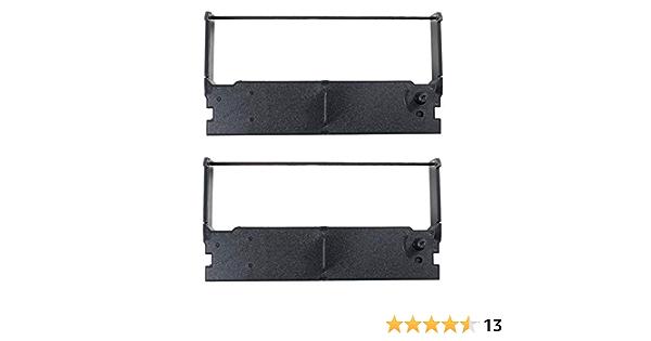 TEC MA-1350 Cash Register Ribbon Black 2 Pack