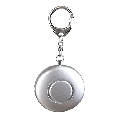 120 dB SOS Emergency Personal Alarm Keychain Self Defense for Women Kids Elderly Adventurer Night Workers Anti-Theft Alarm Policeman Recommend