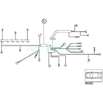 scamat engine wiring harness amazon com bmw genuine engine module engine wiring harness  bmw genuine engine module engine wiring
