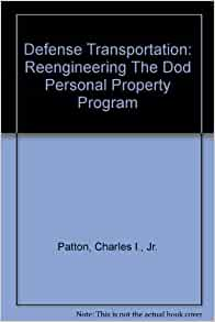 Defense Personal Property Program Dp