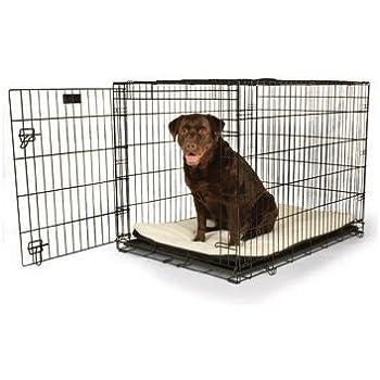 """Petco Classic 1-Door Dog Crate, 42""""L x 28""""W x 30""""H, X-Large, Black"""