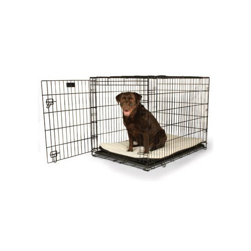 Petco Classic 1-Door Dog Crate, 42″L x 28″W x 30″H, X-Large, Black