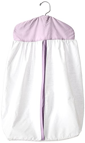 Baby Doll Bedding Forever Mine Junior Diaper Stacker, Lavender