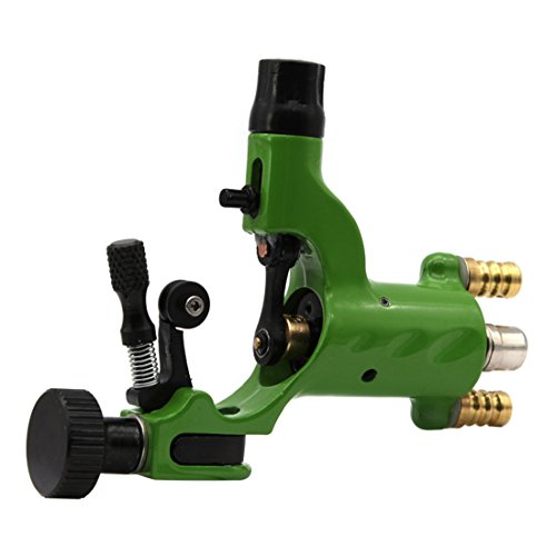Price comparison product image Zinc Alloy Dragonfly Rotary Tattoo Machine Shader And Liner(Green)