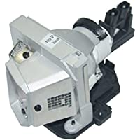 AuraBeam Dell 1610HD Projector Replacement Lamp with Housing