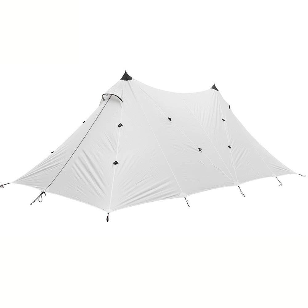 LBAFS Große Regenüberdachungs-Zelt-Markise Im Freien Für Das Kampierende Wandernde Fischen der Großen Überdachung,Weiß