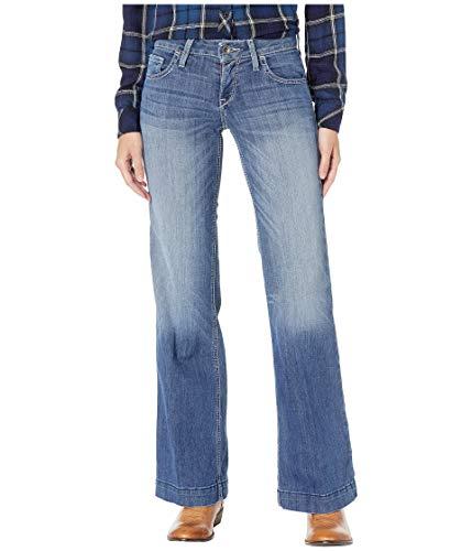 Ariat Women's Trouser Jean, Bonnie Stitch, 33 Reg (Trouser Womens Jeans)