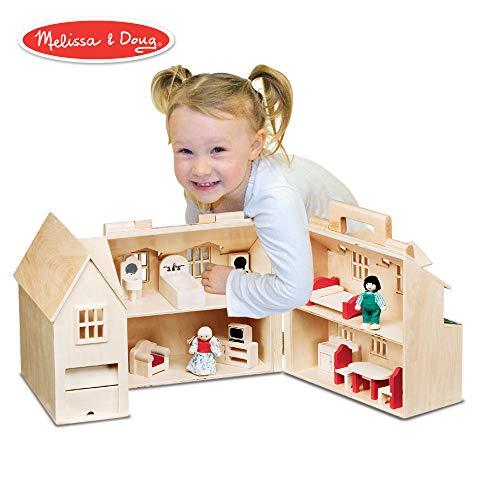 (Melissa & Doug Fold & Go Dollhouse)