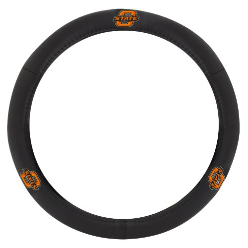 Oklahoma State Leather (Pilot Alumni Group SWC-928 Leather Steering Wheel Cover (Collegiate Oklahoma State Cowboys))
