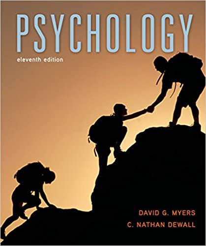 By david myers social psychology (11th edition): david myers.