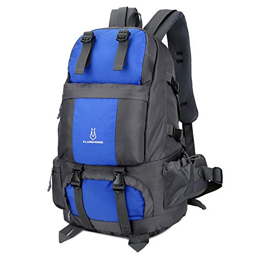 Lixada 50L Internal Frame Backpack,Waterproof & Durable Hiking Travel Sport Climbing Camping Daypack Bag with Shoe Compartment