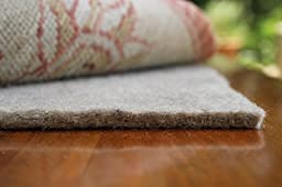 9x12 Mohawk Felt Rug Pads for Hardwood Floors-1/4 Inch Thick-Oriental Rug Pads-100% Recycled-Safe for All Floors