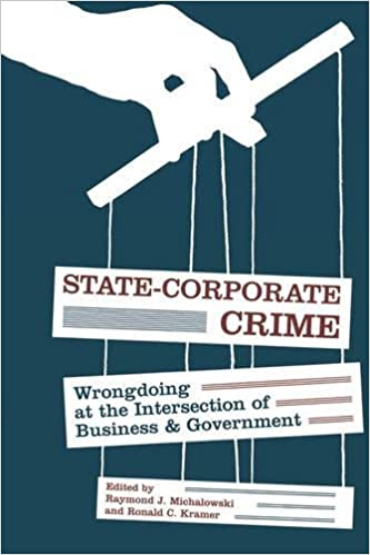 State-Corporate Crime: Wrongdoing at the Intersection of Business and Government (Critical Issues in Crime and Society)