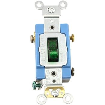 leviton 1201 plg 15 amp 120 volt toggle pilot light. Black Bedroom Furniture Sets. Home Design Ideas