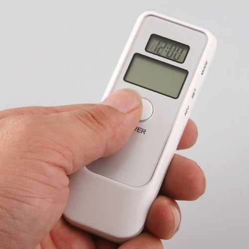 Digital Alcohol Breath Tester Detector Test Testing Analy...