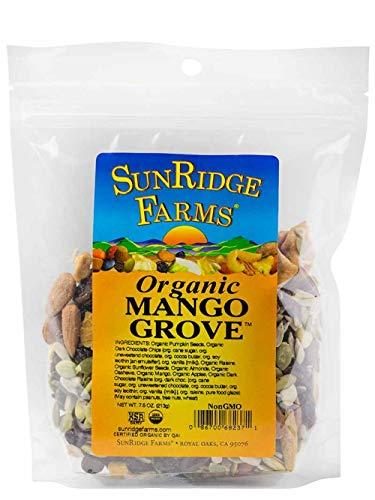 - SunRidge Farms Organic Mango Grove Mix 7.5 Ounce Bag (Pack of 12)