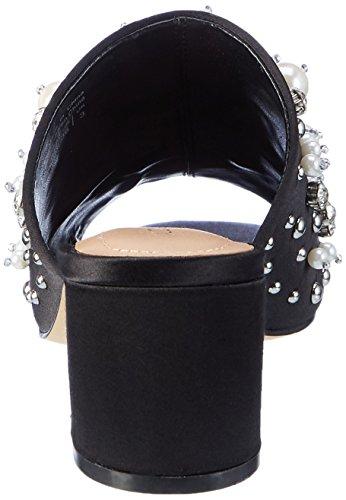 94 Pearls Noir Femme Sandales Satin black Aldo Ouvert Bout 8TnqqPd