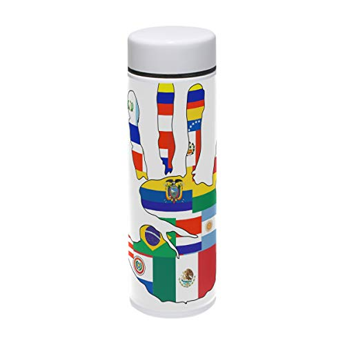 DEYYA Mexican Culture Clipart Thermos Cup Stainless Steel Tumbler Vacuum Insulated Double Wall Travel Cup, 7.5oz ()