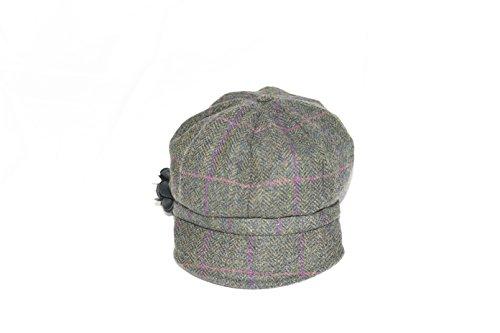 Women's Newsboy Cap Wool...